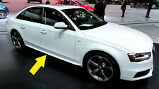AUDI A4 B8 8K 2012+ LIFT BERLINA MINIGONNE LATERALI SOTTO PORTA LOOK S-LINE IT