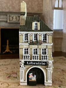 Rare! J. Carlton France GAULT Building French Bookstore Shop Hand Painted Paris