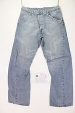 Levi's engineered 619 (Cod. M1771) tg50 W36 L34  jeans usato vintage strappato.