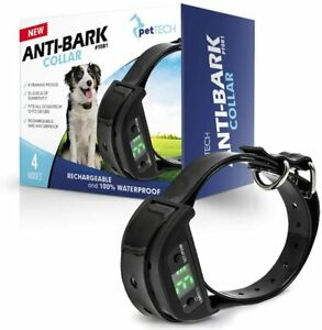 No Bark Dog Collar, Stop Dogs Barking, Humane (No Shock or Sprays) Rechargeable.