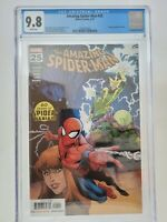 AMAZING SPIDER-MAN #25 CGC 9.8 GRADED WHITE 2019 PAGES MARVEL RYAN OTTLEY COVER