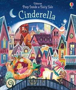 Peep Inside a Fairy Tale Cinderella by Anna Milbourne 1409599116 The Fast Free