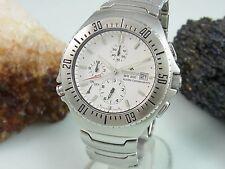 Citizen ProMaster WR 200 alarma chronograph acero inoxidable reloj hombre fácilmente, defectuoso