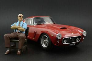 Enzo Ferrari (3) sitting Figure for 1:18 Exoto Ferrari 156 F1 MR   !! NO CAR !!