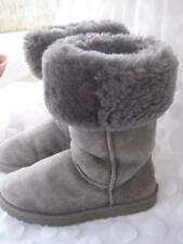 Ugg  Australia  classic Tall Style # 5815 Gray Shearling  Boots Women's Size 8 M