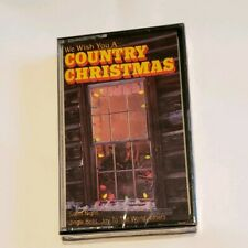 We Wish You a Country Christmas Cassette Tape Tanya Tucker Tammy Wynette