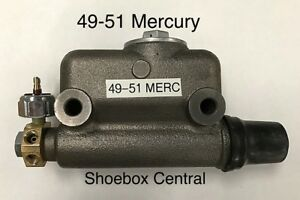 1949 1950 1951 Mercury Car New Replacement Master Cylinder Kit
