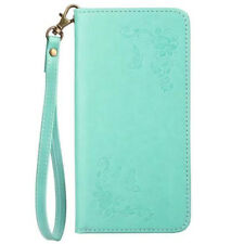 Fashion Embossed Magnetic Flip Wallet PU Leather Case Cover For Lot Phones