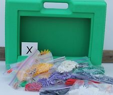 K'nex Green Storage Carry Case of Knex Building Parts  FREE SHIPPING!