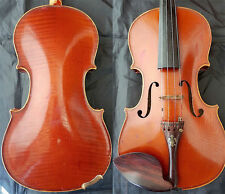 FINE OLD MASTER FRENCH VIOLIN label: Henri Tournier Tiger WOOD 小提琴 СКРИПКА GEIGE