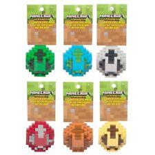 Minecraft Spawn Egg Set with Creeper, Skeleton, Rabbit, Ocelot, Zombie, Mushroom