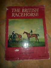 Rare Illustrated Old Magazine ~ The British Racehorse Summer Issue 1964