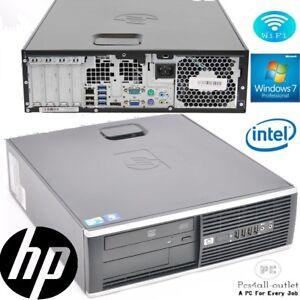 Fast HP Intel Dual Core Processor 6GB RAM DVD WiFi Cheap Win 10 Pro Desktop PC