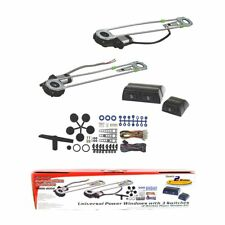 2 Door Car Pickup Universal Electric Power Window Lift Regulator Conversion Kit