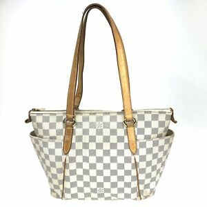 100% Authentic Louis Vuitton Damier Totally PM N41280 [Used] {08-0367}