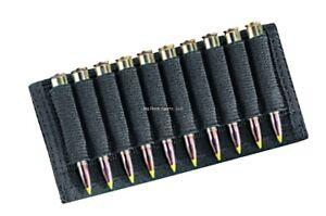 Uncle Mikes Cordura Nylon Rifle Cartridge Slide Holds 10 Rounds Black 88411