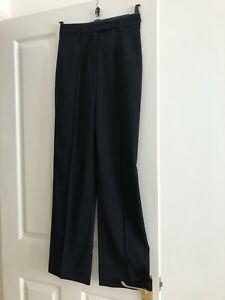 "Betty Barclay Navy Trousers, size 8, 34.. (41"" side length)"