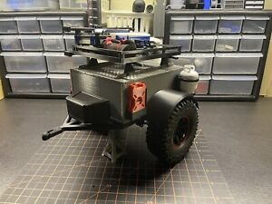 1/10 scale rc crawler trailer accessories rc4wd traxxas axial redcat