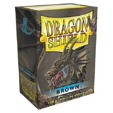 Dragon Shield Standard Size Card Barrier Protector Sleeves 100ct - Brown