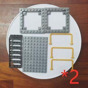 Mega Bloks MOC Mixed Parts Pieces Building Blocks Bricks halo DIY 2 packs stairs
