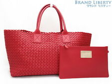 Auth BOTTEGA VENETA Intrecciato medium cabat MM 1000Limited Tote bag 115664 2ec3aac2a2130