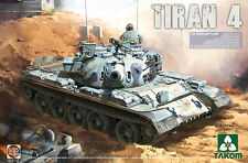 TAKOM 1/35 tiran 4 IDF Tanque Medio # 02051