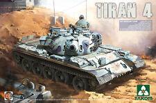Takom 1/35 IDF TIRAN 4 MEDIUM TANK # 02051