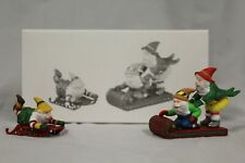 """Department 56: Heritage Village: """"Trimming the North Pole"""" & """"Testing the Toys"""""""