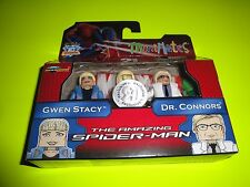 "THE AMAZING SPIDER-MAN MINIMATES GWEN STACY DR.CONNORS TRU EXCLUSIVE 2 PACK""MIB"""