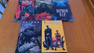 Batman di Grant Morrison 1-5 CARTONATI PLANETA/LION DC COMICS #ebayheroes