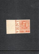 1901 REGNO EFFIGE V. EMANUELE III 20 CENT. PROVA DI STAMPA MNH