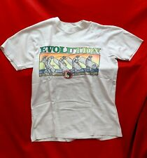 T-shirt T&C ORIGINAL Town and Country surf Design NEON Vintage, 1989 size L