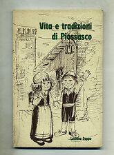 Luciano Suppo # VITA E TRADIZIONI DI PIOSSASCO # G.Alzani & C. 1980