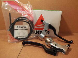 NOS Suntour XCD (4050 Series) MTB Brake Levers w/Factory Matched Cables/Housing
