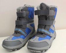 Snow boots Blue Grey UK 3 (35-36 ) Ladies/ Girls TU VGC  7'' High