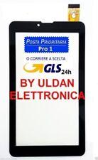 TOUCH SCREEN per Mediacom SmartPad Go 7 M-SP7AGO3G 7AGO3G ORIGINALE VETRO NERO