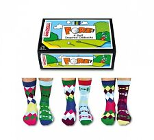 Fathers Day Gift United Oddsocks Golf Inspired Mens Odd Socks