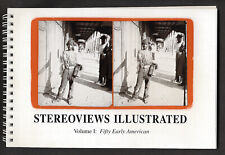 STEREVIEWS ILLUSTRATED: Vol 1 Fifty Early American!  240 line duotone stereos!