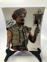 Giancarlo Esposito Signed Once Upon a Time Photo 8x11 Authentic Free Shipping