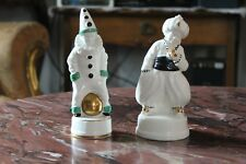 2 Antike Art Deko Figuren Keramik (Meissen)Teichert Oskar Burkhardt