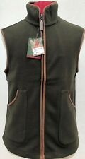 Regents View Mens shooting Fleece Bodywarmer with trims country gilet