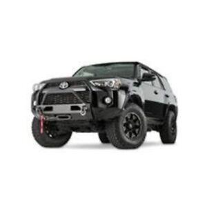 Warn 100022 Semi Hidden Winch Mount Kit - Black, For 2014-2018 Toyota 4Runner