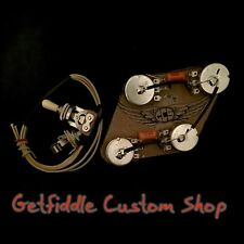 Gibson Epiphone 50s Wiring Harness Bourns Pots .022uf .015 Cap Es 335 339