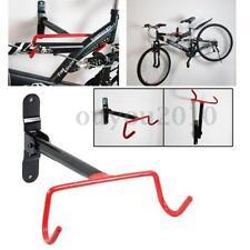 Cycling Bike Storage Garage Wall Mount Hanger Bicycle Steel Holder Hook & Screws