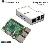 RASPBERRY Pi 3 1.2GHz Quad Core 64Bit 1GB RAM (2016 Model) with White open case