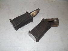 suzuki GS1100E GS1100 rear back passenger foot pegs rests GS750E 1980 1981