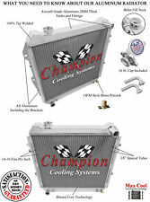 3 Row Queen Champion Radiator V6 Engine fits 1988 - 1995 Toyota 4Runner