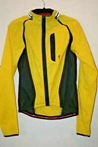 Specialized Women's Size Medium Cycling Zip Jacket Yellow Excellent Condition