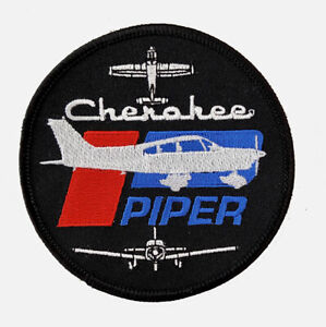 PATCH Piper Cherokee Bomber Pilot Jacket sew-on or iron-on large size fabric