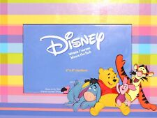 DISNEY FRAME - COLORFUL PLAID WITH WINNIE THE POOH, EEYOR, PIGLET AND TIGGER